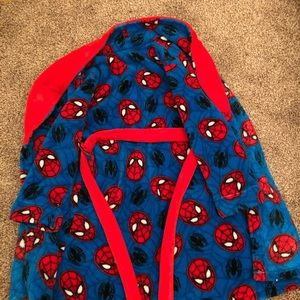 Marvel Other - Marvel Spider Man Kids Robe Great Condition Size 7